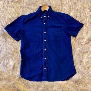 Gap Button Down Short Sleeve Casual Dress Shirt